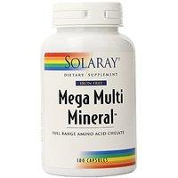 Solaray Mega Multi Mineral Iron-Free Vitamin Capsules,