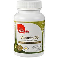 Zahler Vitamin D3 10,000 IU, An All-Natural Supplement