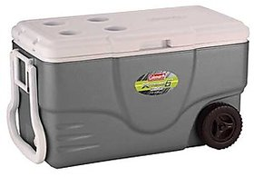 Coleman 50 Qt Wheeled Xtreme Gray Cooler