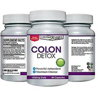 Green Organics Organic Colon Cleanse And Detox - 60 Cap