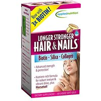 Applied Nutrition Longer, Stronger Hair And Nails, 60-C