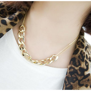 Cinderella Funky Gold Plated Necklace