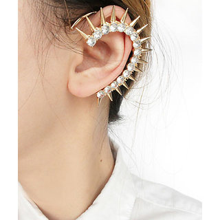 Cinderella  Spiky Crystal Ear Cuff