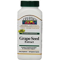 21st Century Grape Seed Extract Veg Capsules, 200 Count