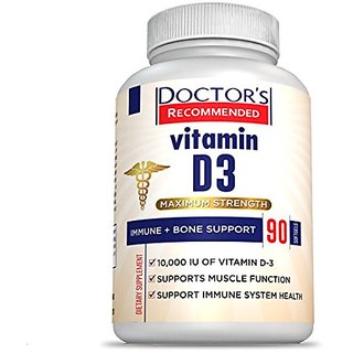 #1 Vitamin D3 Supplement - 10,000 IU - Maximum Strength