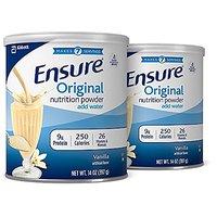 Ensure Original Nutrition Powder, Vanilla, 14-Ounce, 2