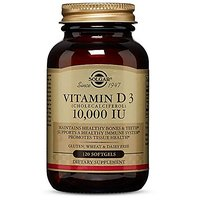 Solgar - Vitamin D3 (Cholecalciferol) 10,000 IU Softgel