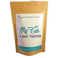 Detox Tea (14 Day Cleanse) W/ B12 By Me Tea|Cleansing &