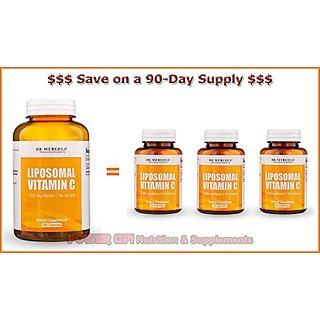 Dr  Mercola ***Liposomal Vitamin C 180 Capsules*** 90-DAY SUPPLY!