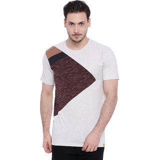 e19e8b0423d9be Buy Campus Sutra Multicolor Round Neck Half Sleeve T-Shirt for Men Online -  Get 40% Off
