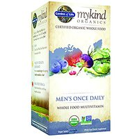 Garden Of Life Organic Multivitamin Supplement For Men