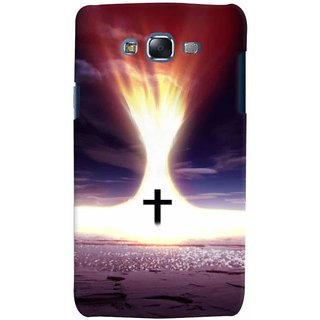 Aart Christmas Themes Designer Luxurious Back Covers For Samsung Galaxy J7 (2015)