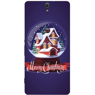 Aart Christmas Themes Designer Luxurious Back Covers For Sony Xperia C5 Ultra