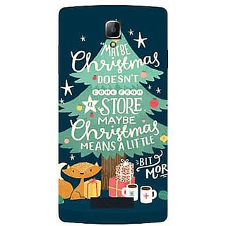 Aart Christmas Themes Designer Luxurious Back Covers For Oppo Neo 5