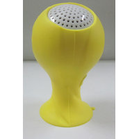 Callmate Mini World Cup Speaker With Silicon Sucker Holder - Yellow