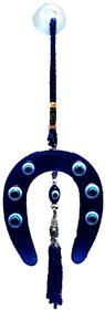 Feng Shui Evil Eye Hanging for Protection with Horse Shoe