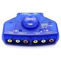 Optimal Shop 2 Way Audio Video Switch Selector Box Spli