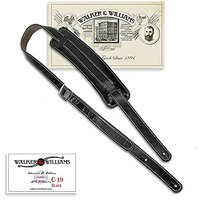 Walker & Williams C-19 Black Vintage Slash Style Rockab