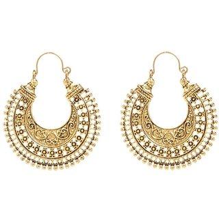 Styylo Jewels Exclusive Golden Black Earring Set /S 2681