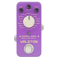 Valeton CME-1 Coral Mod 16 Types Digital Modulation Gui