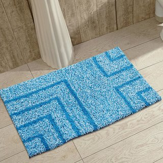 DECORLY HOMES COLOURFUL COTTON DOOR/BATH MAT