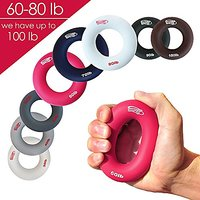 3-in-1 Hand Strengthener Grip Rings Round-Comfortable T