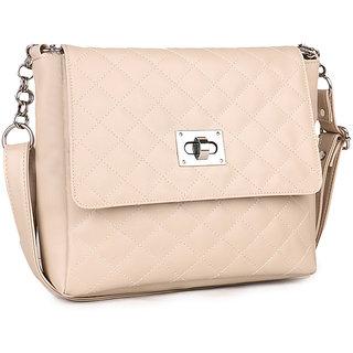 df61936fd155c Buy Goldmine Women s Sling Bag Cream Color Online - Get 73% Off