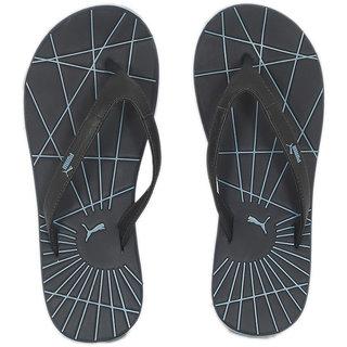 61a27d322 Buy Puma Men s Black and Blue Flip Flops Online - Get 66% Off