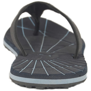 56ef9d746c8 Buy Puma Men s Black and Blue Flip Flops Online - Get 46% Off