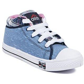 Asian Women's Blue & Pink Sneakers