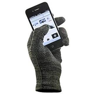 9179ff1aac Copper Infused Touch Screen Gloves - Entire Surface Works on iPhones,  Androids, Ipads, & Tablets - Anti Slip Palm for Driving & Phone Grip -  Maintain ...