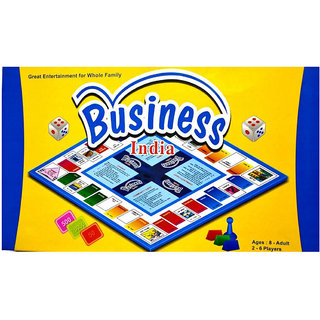Buy Wish Kart Business India Board Game For Kids 2 6 Players Online 399 From Shopclues
