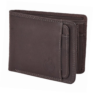 Taksh Brown Formal Regular Wallet TW6012