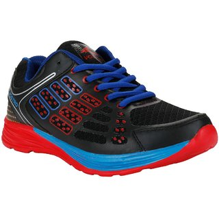 Vostro VSS0001-Boozhim-Black Red Sport Shoes For Men
