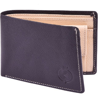 Taksh Black Formal Regular Wallet TW6019