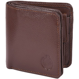 Taksh Brown Formal Regular Wallet TW6020