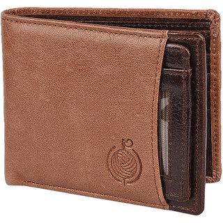Taksh Brown Formal Regular Wallet TW6022