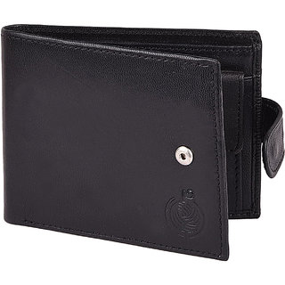Taksh Black Formal Regular Wallet TW6025