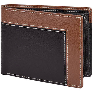 Taksh Black Formal Regular Wallet TW6026