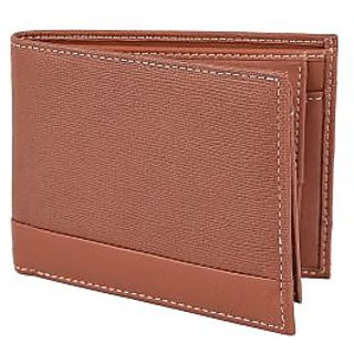 Taksh Brown Formal Regular Wallet TW6028