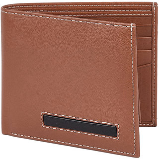 Taksh Brown Formal Regular Wallet TW6029