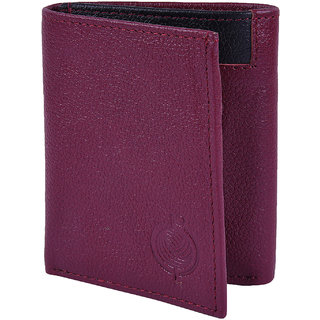 Taksh Purple Formal Regular Wallet TW6042