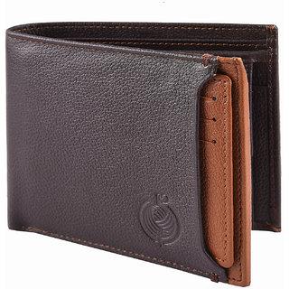Taksh Brown Formal Regular Wallet TW6045