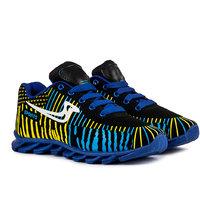 Pan Men Blue Lace Up Casual Shoes