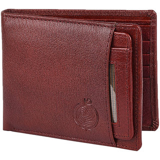 Taksh Red Formal Regular Wallet TW6004