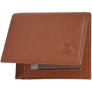 Taksh Brown Formal Regular Wallet TW6008