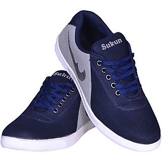 Sukun Blue  Grey Sneaker Casual Shoes
