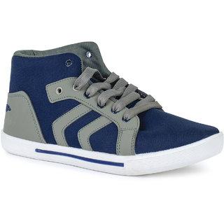 World Wear Footwear Blue Grey -114 Men/Boys Casual shoes