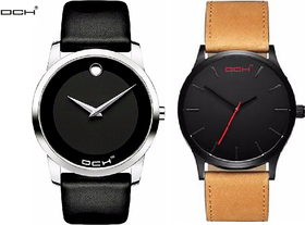 DCH Combo of 2 Men Watches