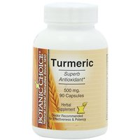 Botanic Choice Turmeric, 500 Mg, 90 Capsules (Pack Of 5